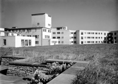 Rear of Ward Block and Archives Tower